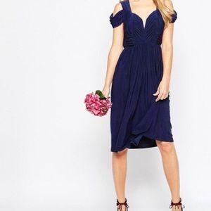 ASOS Navy Blue Formal Dress